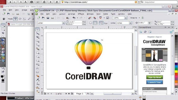 แนะนำการใช้โปรแกรม coreldraw